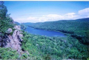 The Porcupine Mountains, Ontonagon County and The Wilds of Michigan