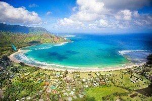 Hanalei Bay Beach, Hawaii