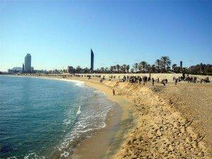 Beach Nova Icaria, Barcelona