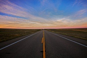 Endless open roads