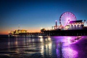 to Santa Monica Pier