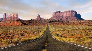 Monument Valley in the US