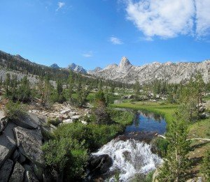 Kearsarge Pass in Sierra