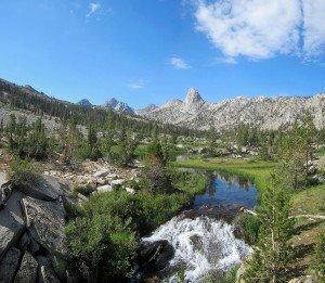 Kearsarge Pass in Sierra