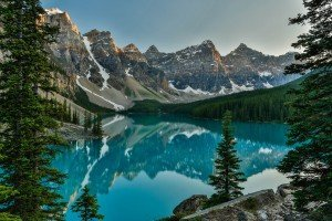Valley of Ten Peaks in Canada