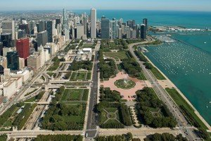 the Grant Park