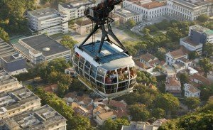 he city by cable car