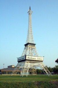 The Eiffel Tower in Fayetteville