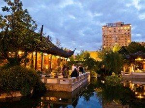 """hinese Garden """"Lan Su"""""""