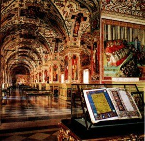 Apostolic Library in the Vatican, Rome