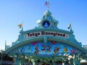 DisneyLand in Tokyo