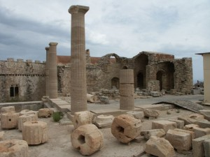 Ancient city Lindos