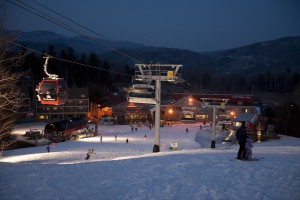 Maine The Sunday River ski resort