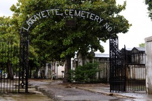 The Lafayette Cemetery