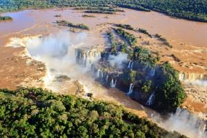 Iguazu Falls, Argentine-Brazilian border