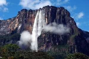 The Angel Falls, Venezuela
