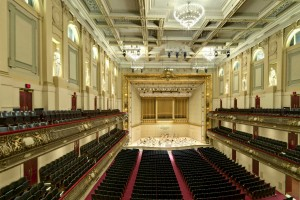 The Boston Symphony Hall