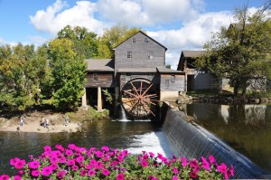 Old Mill Square pigeon forge