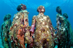"underwater statue ""Ocean Atlant"""