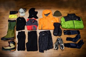 Clothes and Shoes for hiking